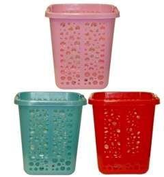 10 of Rectangle Plastic Laundry Basket