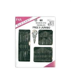 96 of Needle 60 Count Assorted With 5 Piece Jumbo