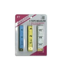 96 of 3 Pack Vinyl Measure Tape