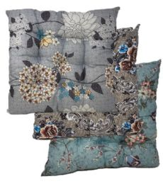 24 of Cushion Floral Print