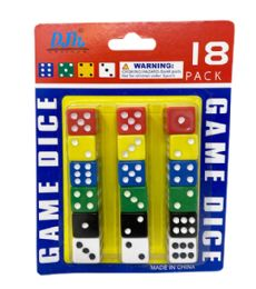 96 of 18 Piece Dice Set