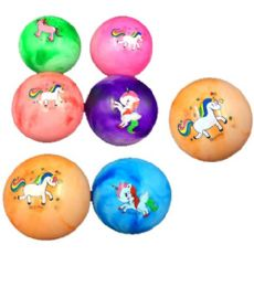 120 of PVC Marble Unicorn Ball 9 Inch