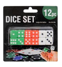 144 of 12 Piece Dice Set
