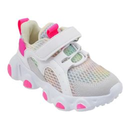 12 of Girls Sneakers Casual Sports Shoes In White And Pink