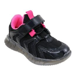 12 of Girls Sneakers Casual Sports Shoes In Black And Fuschia