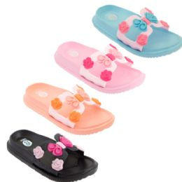 48 of Girls Floral Slide