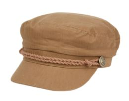 12 of COTTON GREEK FISHERMAN HATS IN BROWN