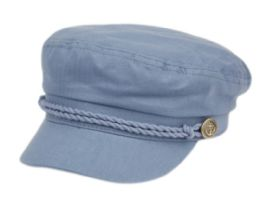 12 of COTTON GREEK FISHERMAN HATS IN DENIM BLUE
