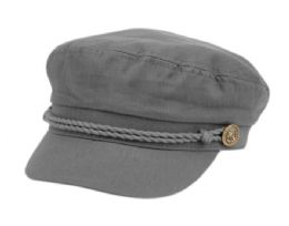 12 of COTTON GREEK FISHERMAN HATS IN GRAY