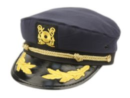12 of FASHION CAPTAIN HATS IN NAVY