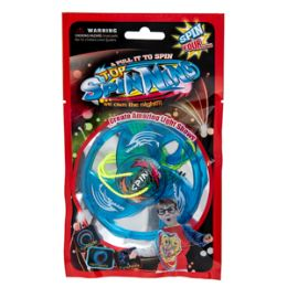 72 of Light Up Pull String Spinning Top