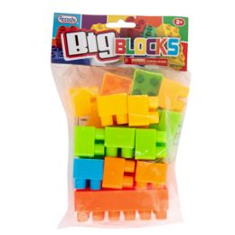 48 of Big Interlocking Blocks Set 20 Piece Set