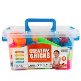 12 of Creative Interlocking Blocks Set 50 Piece Set