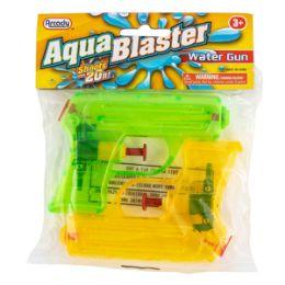 "96 of 4.25"" Aqua Blaster Water Guns 2 Piece Set"