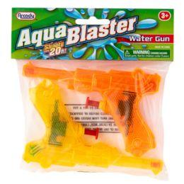 "96 of 5.25"" Aqua Blaster Water Guns 2 Piece Set"