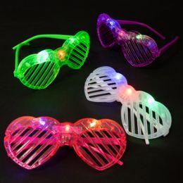 180 of Light Up Heart Shutter Glasses