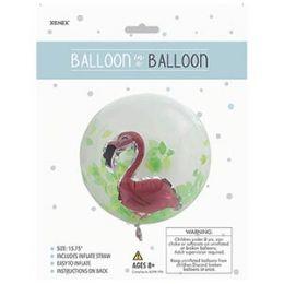 48 of Balloon in a Balloon - Flamingo