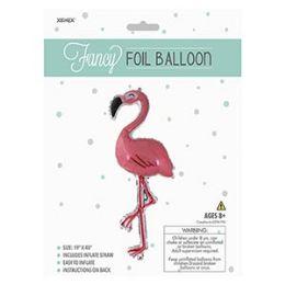 48 of Fancy Foil Balloon - Flamingo