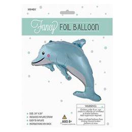 48 of Fancy Foil Balloon - Dolphin
