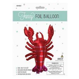 48 of Fancy Foil Balloon - Lobster