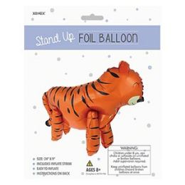 48 of Stand-up Foil Balloon - Tiger