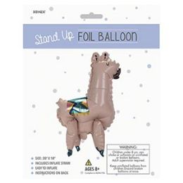 48 of Stand-up Foil Balloon - Llama