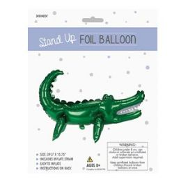 48 of Stand-up Foil Balloon - Crocodile