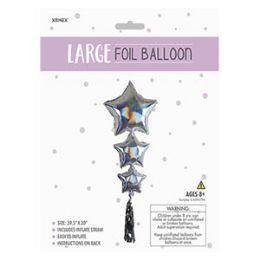 24 of Large Foil Balloon - Stars