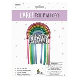 24 of Large Foil Balloon - Rainbow