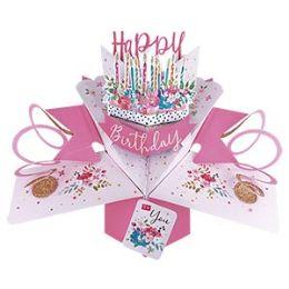 12 of Happy Birthday Pop-up Card - Cake