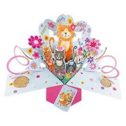 12 of Happy Birthday Pop-up Card - Cats