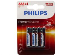 36 of Philips Power Alkaline 4 Pack Aaa Battery