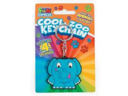 144 of Cool Zoo Animal Keychain In Assorted Animals