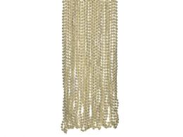 72 of 4 Pack Gold Metallic Bead Necklaces