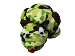 30 of Large Knotted Camo Print Plush Snakeq