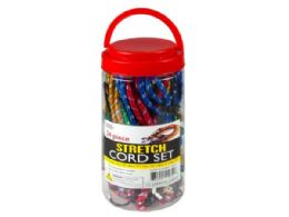 6 of 24 Pack Heavy Duty Stretch Cord Set