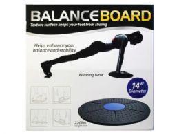 6 of Balance Board Exercise Platform 2 Asst Colors