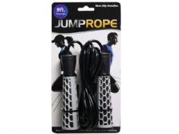 12 of Jump Rope 9 Feet 2 Asst Colors