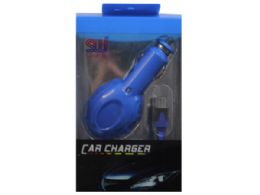60 of Sw Blue Micro Usb Car Charger