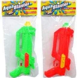 """48 of 10.5"""" Water Gun In Poly Bag W/header, 3 Assrt Clrs"""