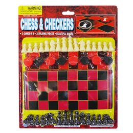 36 of 2-IN-1 Chess And Checkers Game