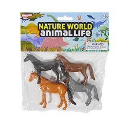 48 of Nature World Horses - 4 Piece Set