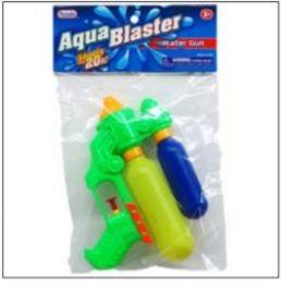"""48 of 7.25"""" 2-Tank Mini Water Gun In Poly Bag W/header, 3 Assrt"""