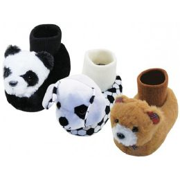 36 of Children Novelties Animals Head Slippers