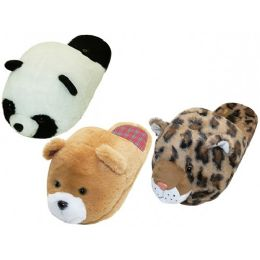 36 of Women's Novelties Animals Head Slippers