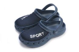 36 of Boys Sport Clogs In Assorted Colors And Sizes