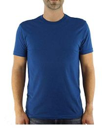 12 of Yacht & Smith Mens Cotton Crew Neck Short Sleeve T-Shirts, Royal Blue, 3x Large