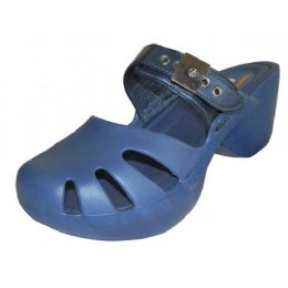 18 of Women's Wedge Clogs Navy Color