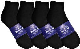 12 of Yacht & Smith Womens Lightweight Cotton Sport Black Quarter Ankle Socks, Sock Size 9-11