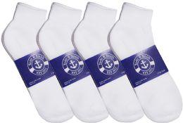 12 of Yacht & Smith Womens Lightweight Cotton Sport White Quarter Ankle Socks, Sock Size 9-11